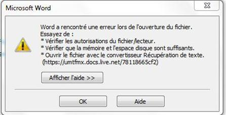 5 solutions visent r soudre le probl me impossible d - Ouvrir document open office avec word ...